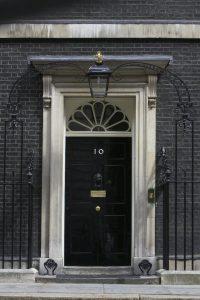 Door at 10 Downing Street
