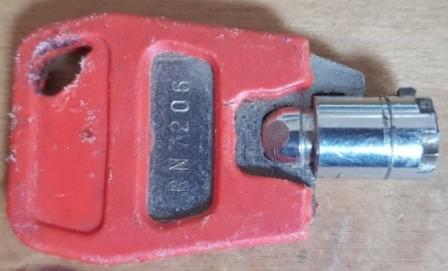 Tubular key
