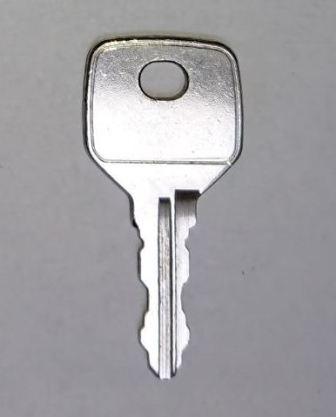 Flat key