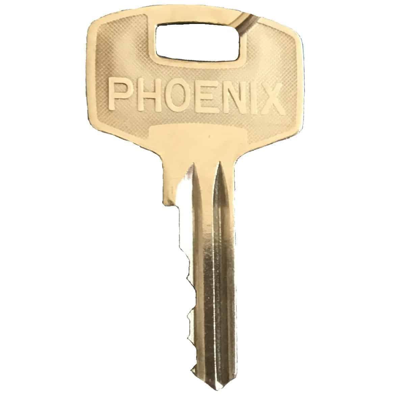 Yale-style side-cut safe keys